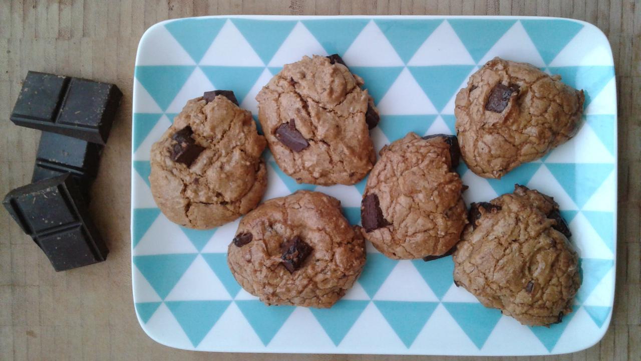 cookies vegan aux pepites de chocolat