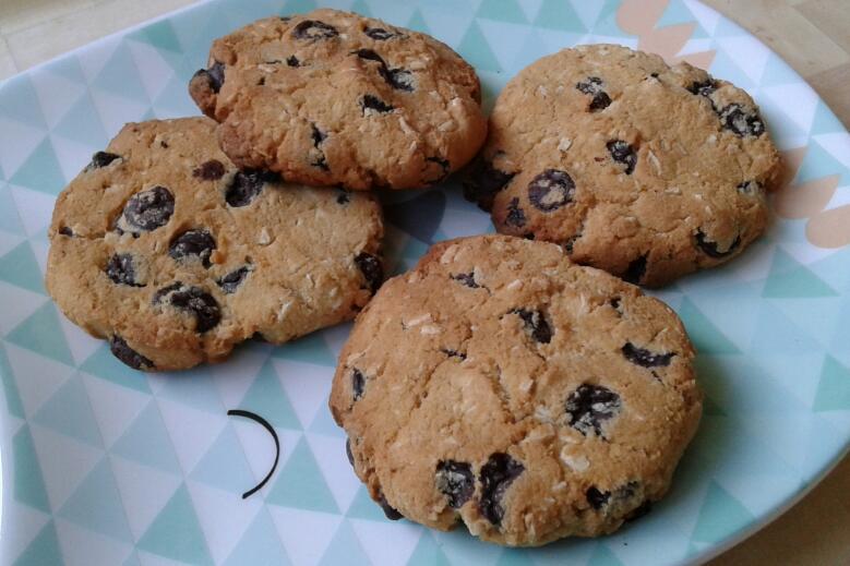 Cookies au lait de noix de coco