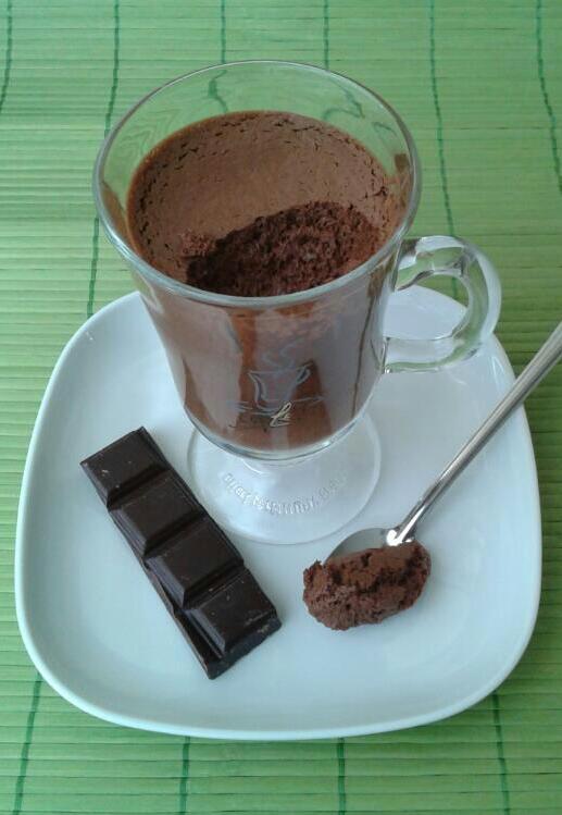 Mousse legere au chocolat