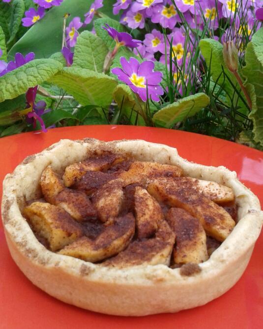 Tarte aux pommes cannelle